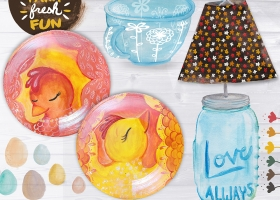 Farm Fresh Fun glass product concepts