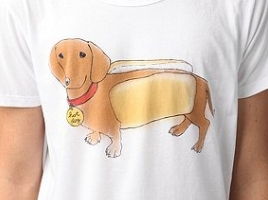 Real Hot Dog tee for Urban Outfitters