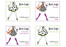 Nice Legs wine labels