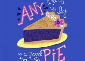 Any Time of the Day is a Good Time For Pie