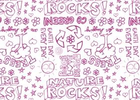 Nature Rocks pattern for Kohls