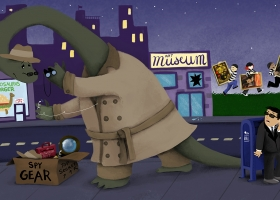 An Apatosaurus Would Not Make a Good Spy for Capstone Publishing