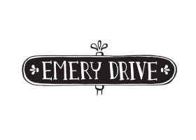 Emery Drive hand drawn logo