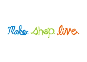 Make Shop Live handpainted logo