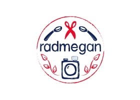 Radmegan hand drawn logo