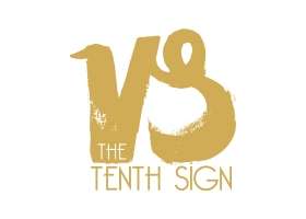 The Tenth Sign hand painted logo