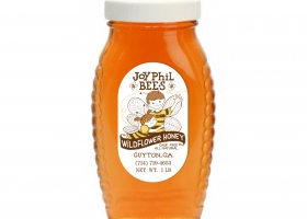 Custom Honey Label for JoyPhil Bees