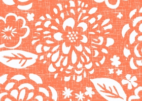 Bold Floral repeat pattern design for Kohl's