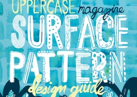 Uppercase Magazine Surface Pattern Design Guide Concept