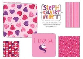 conversation-hearts-valentine-collection-dinnerware-steph-calvert-art