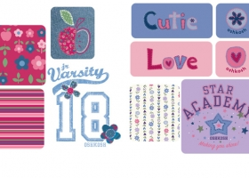 Infant Graphics for OshKosh B'Gosh