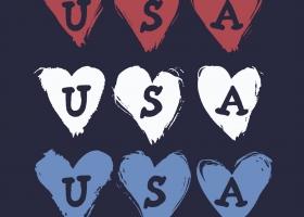 Hearts Flag