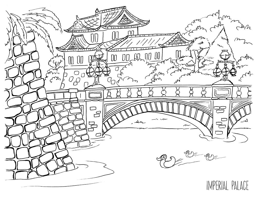 travel illustrations by award winning illustrator steph
