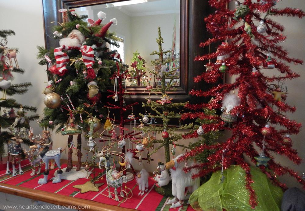 Foyer Table Decor Christmas : A christmas carole beautiful decorations