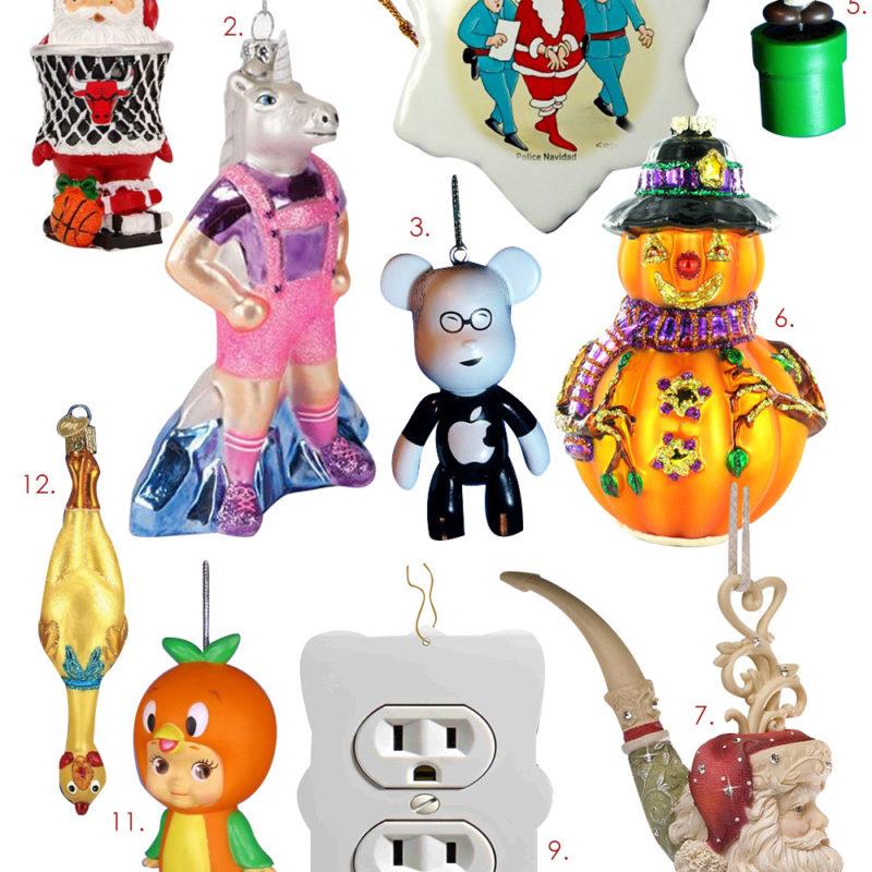 Christmas Tree Ideas – Get Weird Christmas Ornaments!