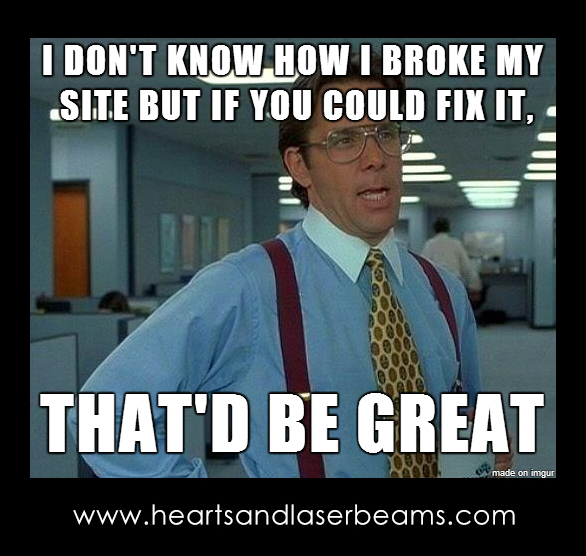 Funny Meme Office Space : Funny memes to celebrate our new site maintenance services