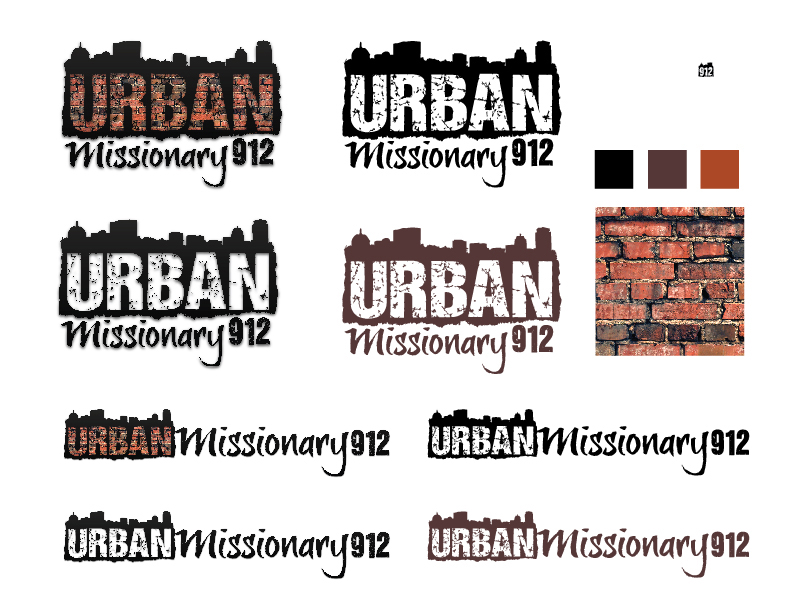 logo design project urban missionary 912