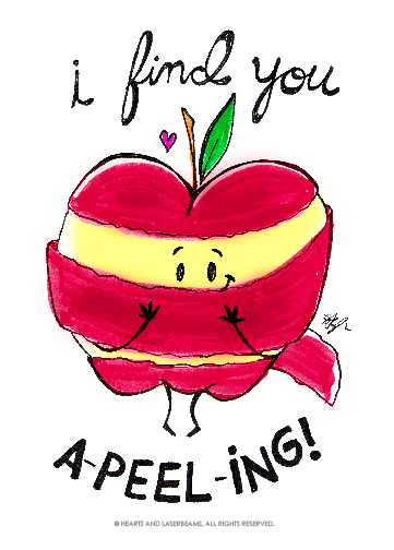 Free Printables Funny Valentines With Food Puns