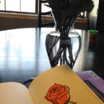 Rose Drawing from Valentines Flowers