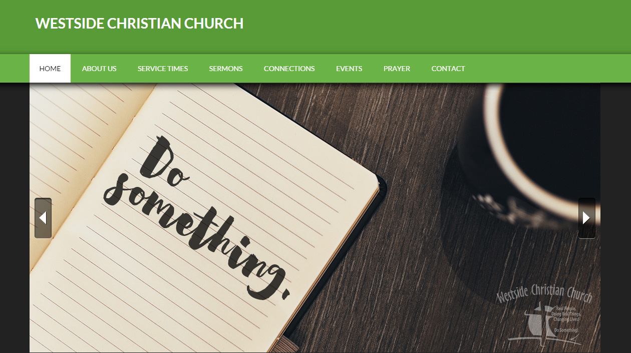 Mobile Responsive Web Design For Westside Christian Church   Hearts And  Laserbeams