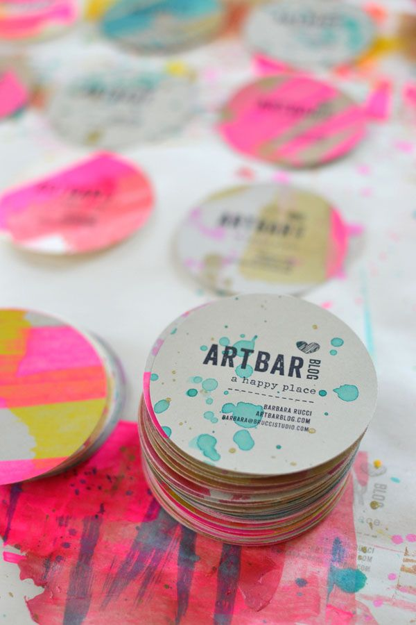 Great Business Card Design Ideas - Steph Calvert Art