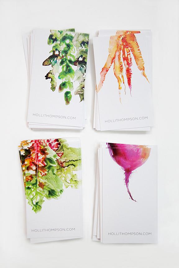 Great Business Card Design Ideas - Steph Calvert Art