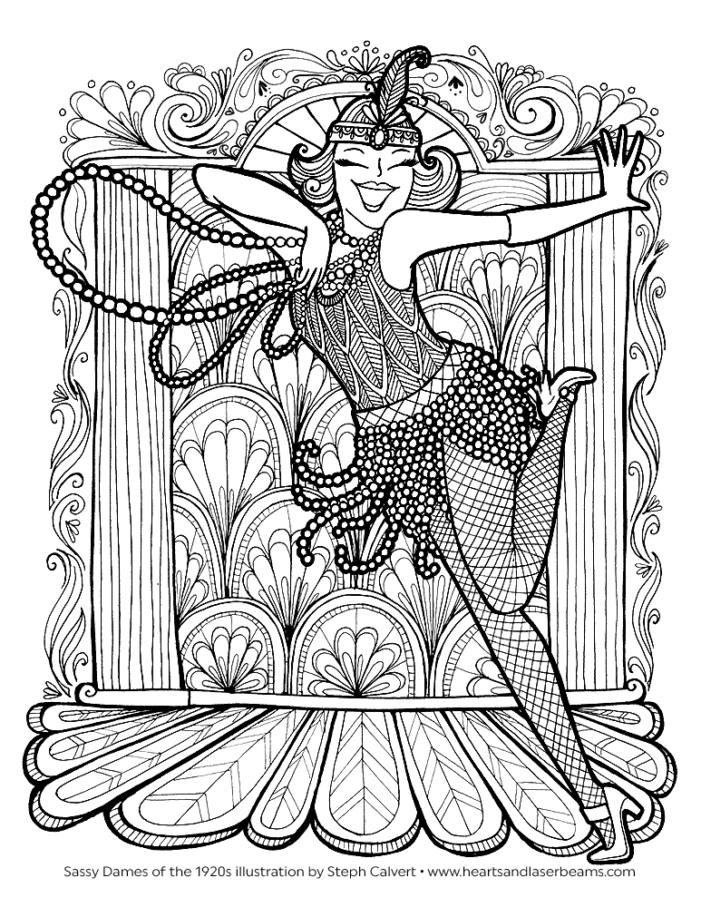 cassic art coloring pages - photo#15