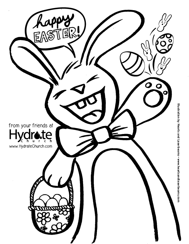 Easter Egg Hunt in Pooler and Easter Coloring Pages by Steph Calvert of Hearts and Laserbeams