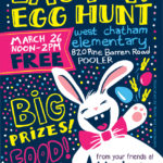 Easter Coloring Pages and Easter Egg Hunt in Pooler!
