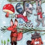 Devastatingly Cute Woodland Animals Christmas Ornaments