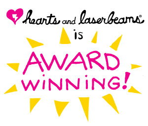 Award winning illustrator - Steph Calvert of Hearts and Laserbeams