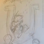 Childrens Books Illustration: U is for Unicorn