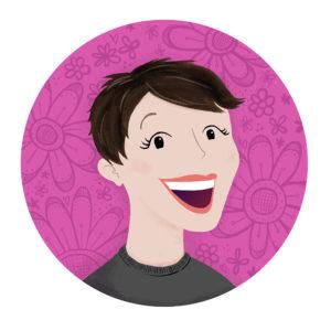 Self Portrait - Steph Calvert Art | http://stephcalvertart.com