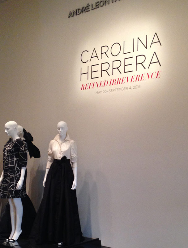 Photos from the Carolina Herrera show at SCAD Museum of Art