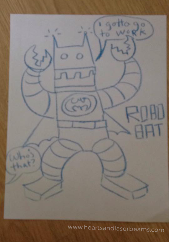 Drawing Robots with Phil - Hearts and Laserbeams
