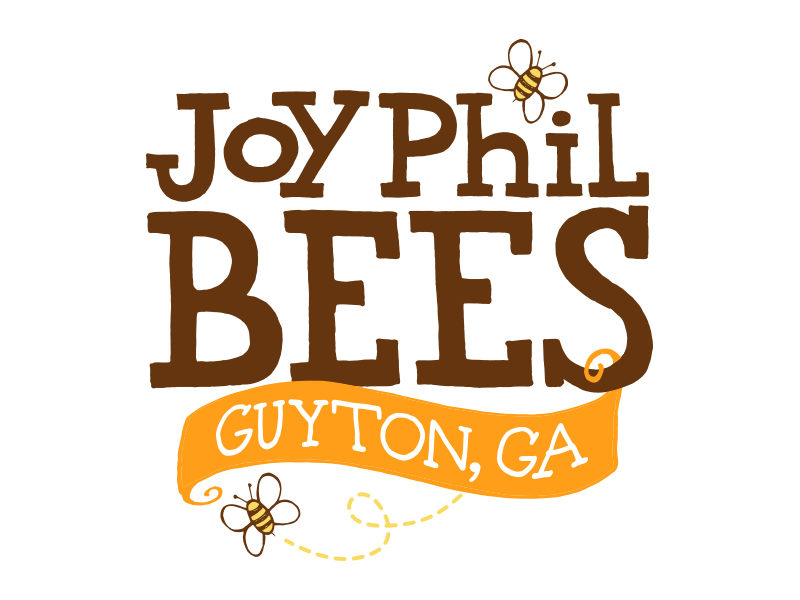 Custom Logo Design – JoyPhil Bees Honey Label